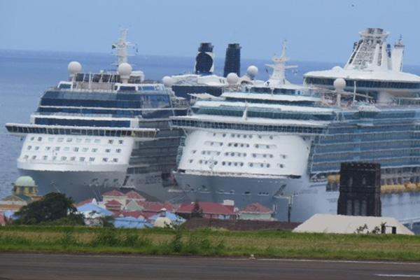 9,000 cruise passengers visit Wednesday, 25,000 so far this week