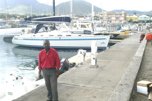 Director of Maritime Affairs pleased with the marina developments in St. Kitts and Nevis