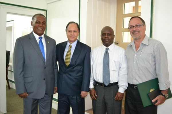 Brazilian Ambassador to SKN pays courtesy call on Nevis Premier