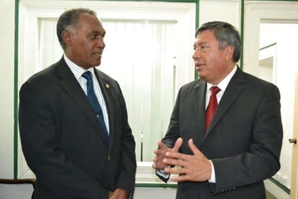 Mexican Ambassador pays courtesy call on Nevis Premier
