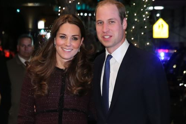 British royal couple arrives in New York