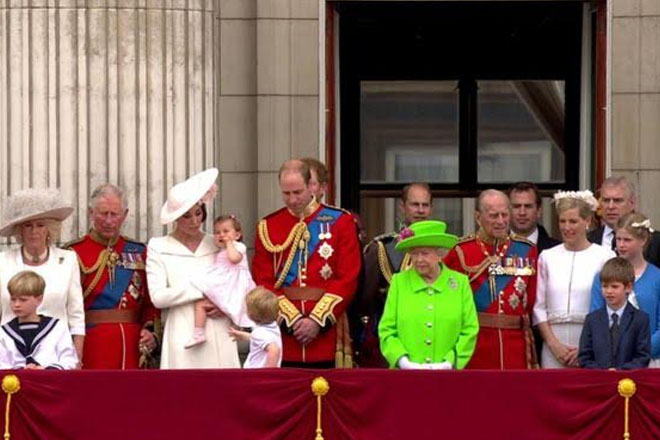 Queen's 90th birthday is marked at Trooping the Colour parade