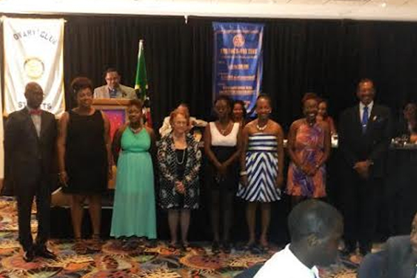 Light Up Rotary – Rotary Club of Liamuiga installs new officers