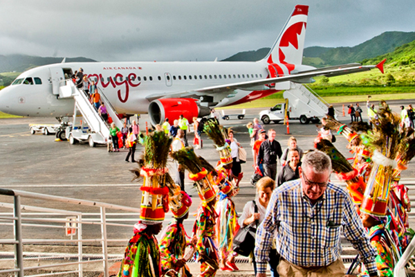 Air Canada to resume weekly flights to St. Kitts
