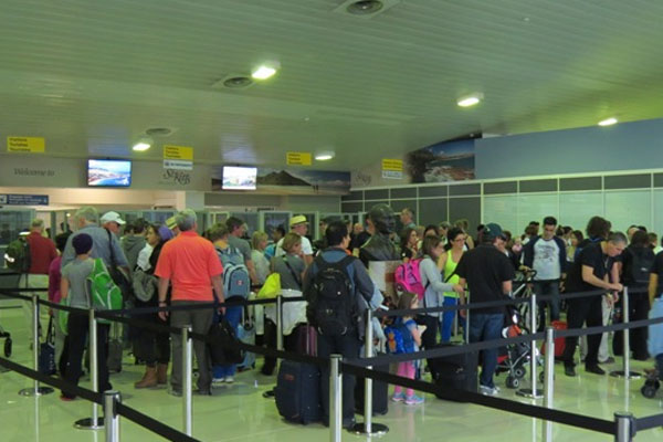 SCASPA reports increase in passenger arrivals and cargo export at airport