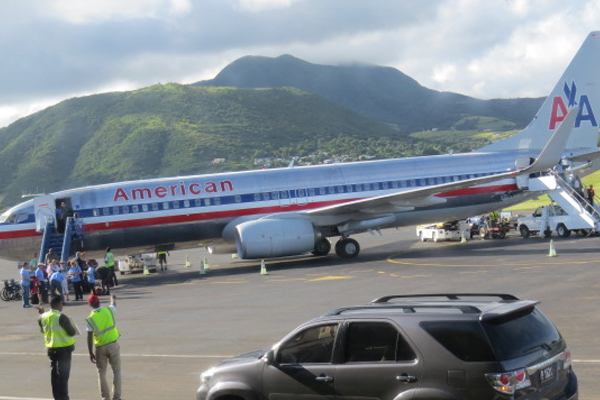 American Airlines begins operating two daily flights from Miami to St. Kitts from Thursday