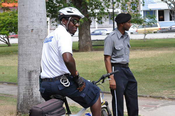 Role of the Uniform Patrol Division of the Royal St. Christopher and Nevis Police Force