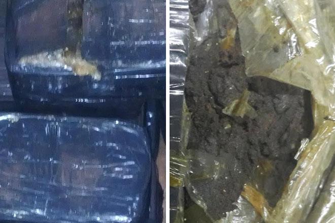 Police seize large amount of hashish
