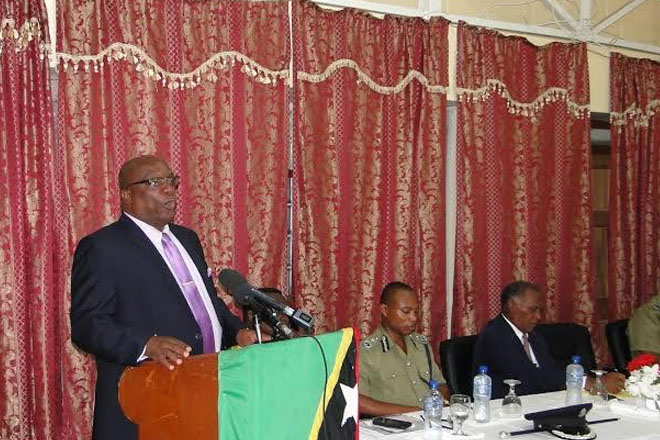 """""""Do the best you can today"""" PM Harris' charge to Police during Visit to Nevis"""