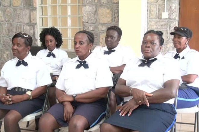 Six Traffic Wardens join Traffic Department in Nevis Police Division
