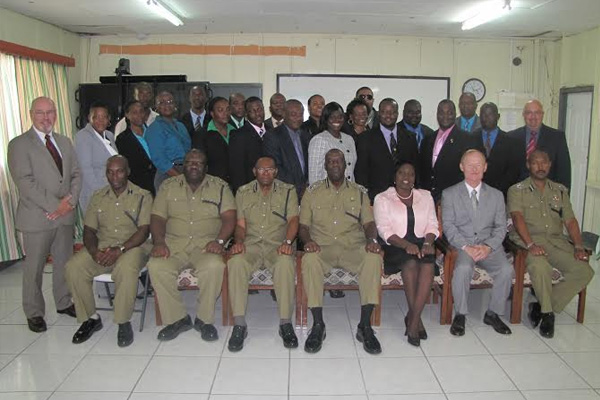 Closing Ceremony Internal Affairs Investigation and Audit and Inspection Courses