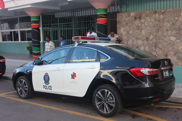 New Patrol Cars on the Streets of Basseterre