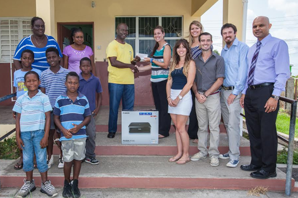 RUSVM Seventh Semester Students Donate to Community School to Promote Education and Develop a Breakfast Club Program