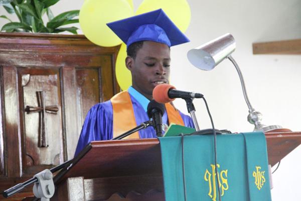 Gingerland Secondary School CCSLC Valedictorian says thanks