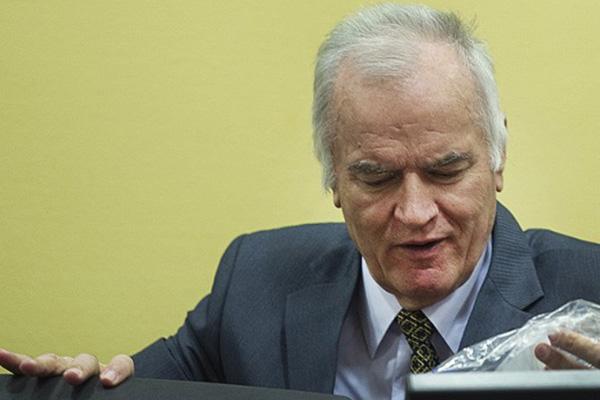 Ex-army chief Ratko Mladic refuses to testify at Karadzic genocide trial