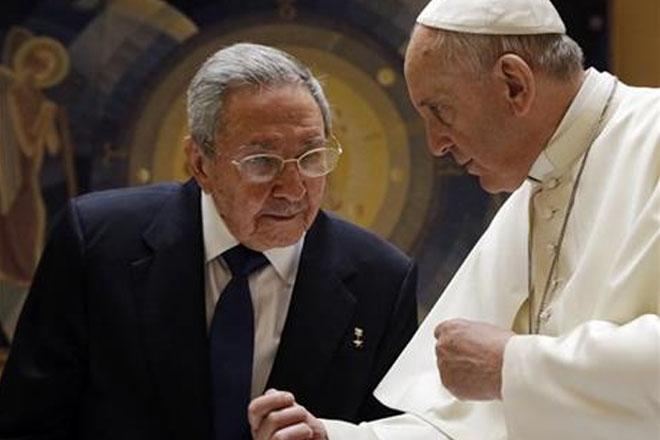 Castro: This pope's so impressive, I might return to church