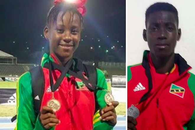 St. Kitts and Nevis Shines at Pan Am Youth Championships