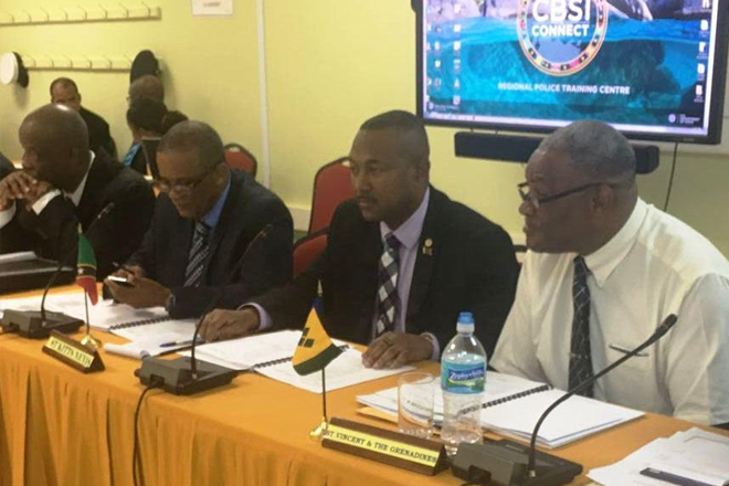 Federation's Security Chiefs participate in RSS Security Chiefs Meeting held in Barbados
