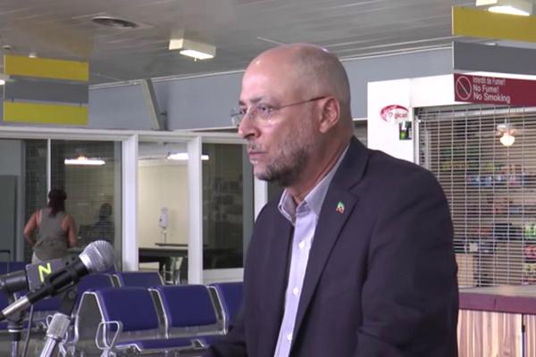 Officials unveil new airport Departure Lounge