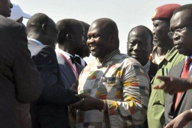 South Sudan rebel chief Riek Machar sworn in as vice-president