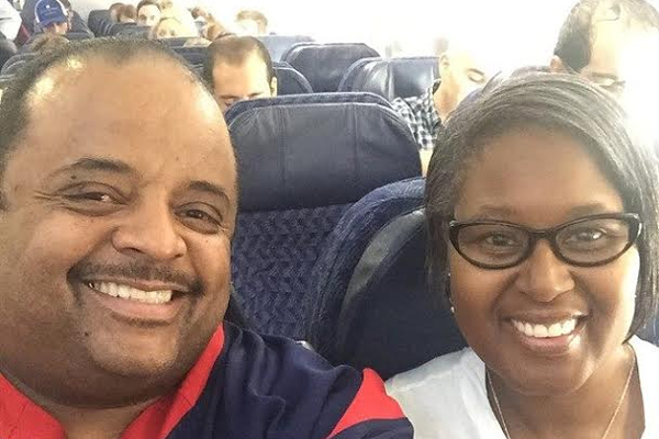 Former CNN contributor Roland Martin vacations in St. Kitts