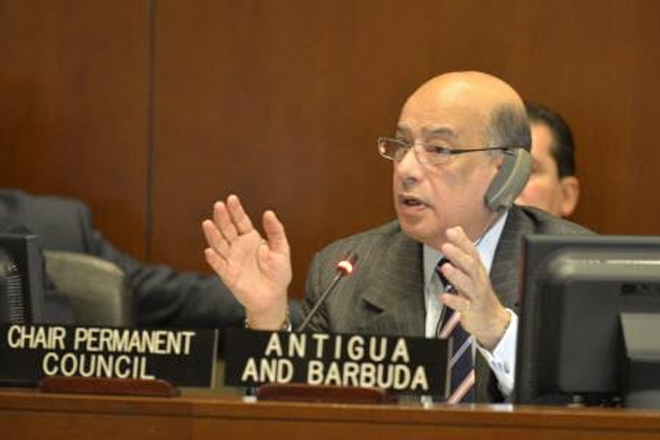 Antigua-Barbuda ambassador reports on OAS special mission to Haiti