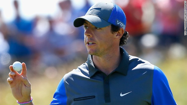 Rory McIlroy hits the front early at the British Open