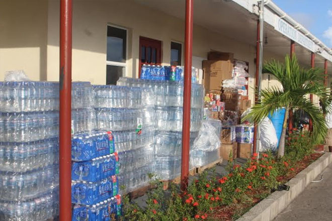Rotary Clubs Coordinate Dominica Assistance