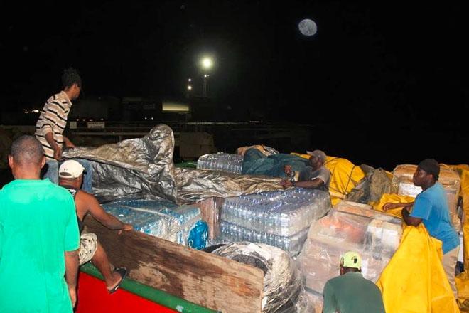 Relief Supplies Arrive in Dominica
