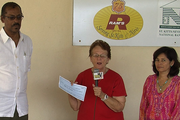 Rotary Club of Liamuiga Donates to Outreach Centre