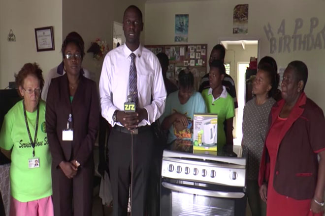 Rotary Donates to Ade's Place