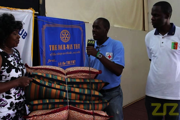 Rotary Clubs donate Pillows