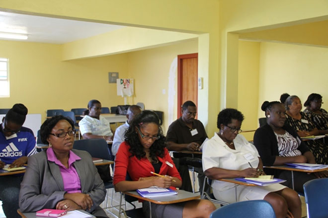 15 small business owners on Nevis receive training on better business management practices