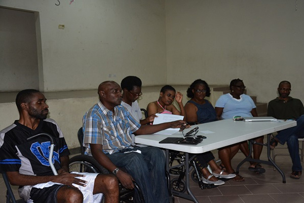 Mills re-elected president of the St. Kitts-Nevis Association of Persons with Disabilities