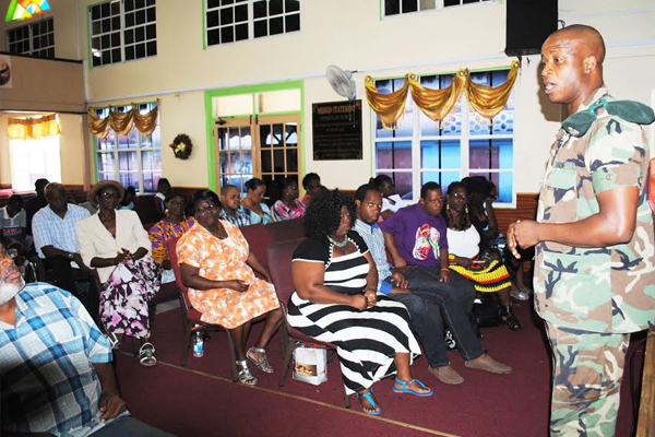 We are a caring society; Defence Force Spokesman tells SKNADP members
