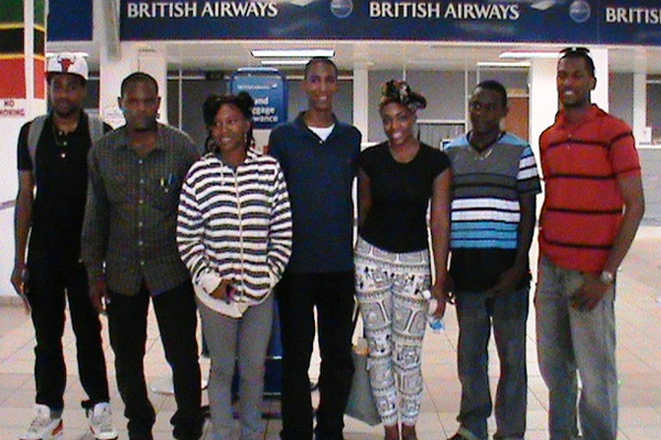 Seven nationals off to study in Cuba