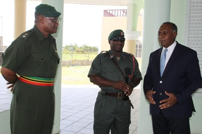 Nevis Premier registers gratitude to SKN Defence Force