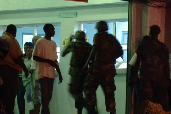 Shooting at JNF Hospital