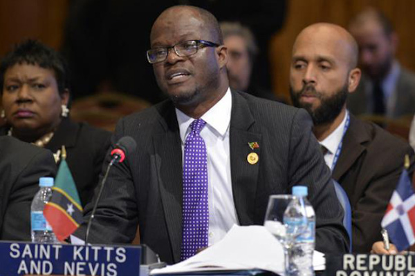 Foreign Minister Patrice Nisbett leads St Kitts and Nevis delegation to the 44th OAS General Assembly in Asuncion, Paraguay