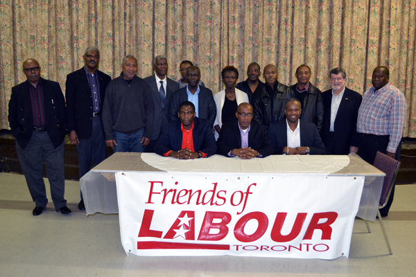 DPM, two new Labour Party candidates meet supporters in New York and Toronto