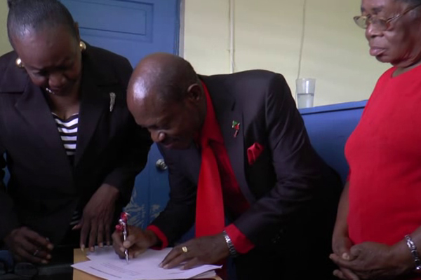 Nomination Day in St. Kitts and Nevis