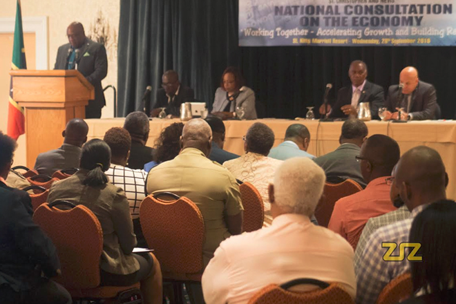 Stakeholders gather to discuss the economy