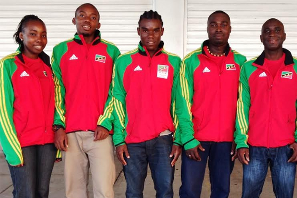 St Kitts and Nevis table tennis team departs for CAC Qualifiers El Salvador