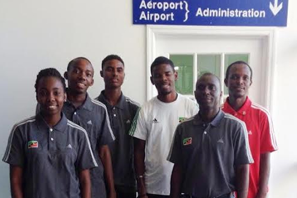 Saint Kitts and Nevis table tennis team departs for Dominican Republic