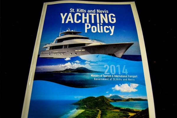 St. Kitts and Nevis National Yachting Policy launched