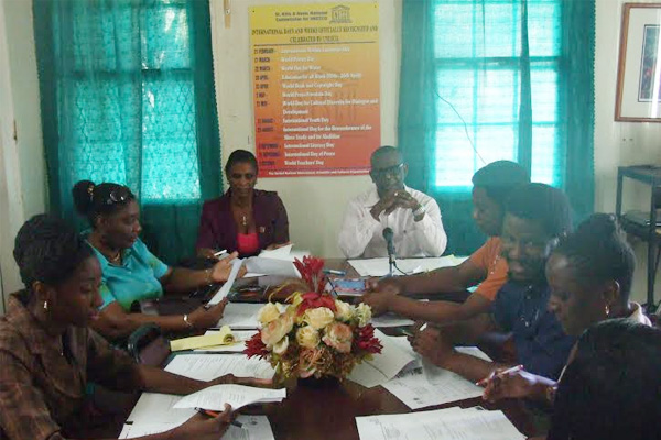 UNESCO National Commission Says Youth to Chart the Course in Launching Youth for Human Rights Project in SKN