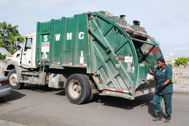 Woman loader at Solid Waste: Samantha fits the bill – is equal to any of the guys