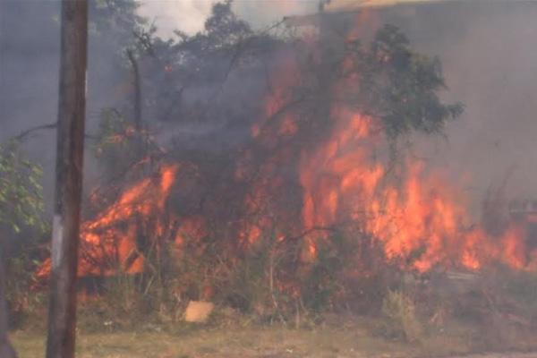 Fire Tears through Sandy Point Community