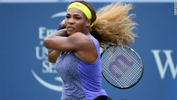 Serena Williams wins Cincinnati open
