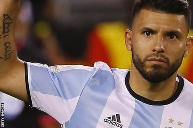 Sergio Aguero: Argentina and Man City striker out of qualifiers